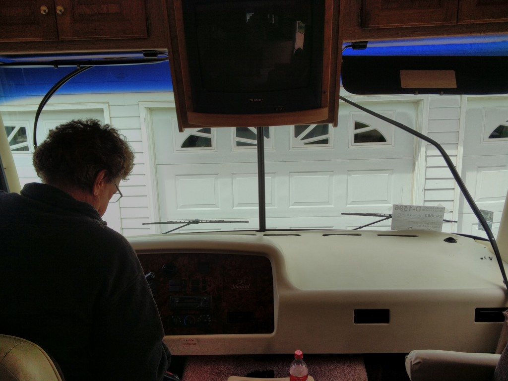 Windshield Curtain Replacement Rv Dream Tour Rod Amp Tanya